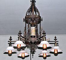 Edison Home Chandelier by Rosalie Scanlon