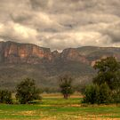 True Blue - Capertee Valley, Australia  - The HDR Experience by Philip Johnson