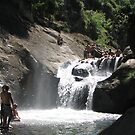 Macquarie Rivulet Waterfall and Swimming Hole by Alan Dicker