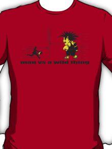 man vs a wild thing T-Shirt