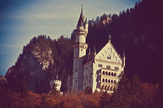 Neu Schwanstein Castle by Julia Goss