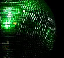 green glitter two by Annalisa Bruno