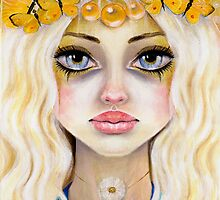 Yasi the yellow Queen by KimTurner