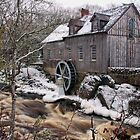 Sable River Mill by Debbie  Roberts