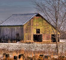 """Barn in Winter - East Tennessee"" by bbug"