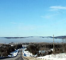 Winter Fog Phenomenon at -34C by loralea