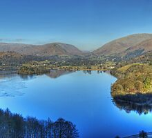Grasmere in January by Jamie  Green