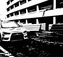 Mitsubishi Evo X by avdesigns