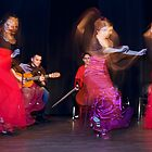 Flamenco nighte 5 by Aleksandar Topalovic