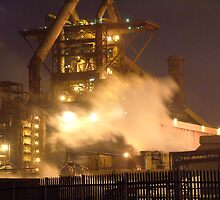 Redcar Steelworks by Paul  Green