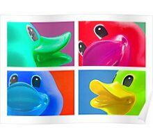 4 Ducks Poster