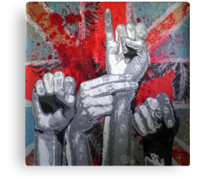 Sign10-JACKSHIT Canvas Print