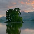 Tranquil Loch Tay by Cliff Williams