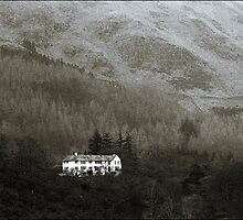 The white house on the fell, Lake District by tj57