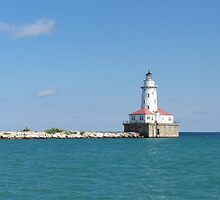 Windy City Lighthouse by bbegnaud