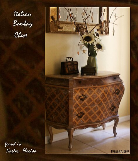 Italian Bombay Chest by Brenda Dow