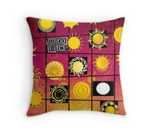 """""""Running in Square Circles"""" Throw Pillow"""