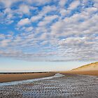 Wide and empty beach by Adri  Padmos