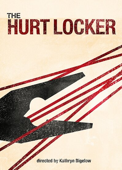 &quot;The Hurt Locker&quot;- minimalist movie poster by J PH