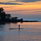 Sunset - Santiago Cove, Philippines by Loreto Bautista Jr.