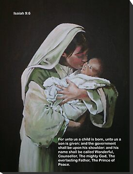 UNTO US A CHILD IS BORN by Rosetta Jallow