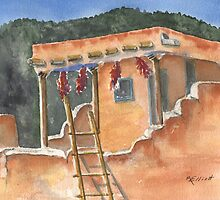 Southwest Adobe by Marsha Elliott