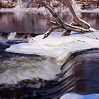 Frozen Falls of Almonte by Josef Pittner