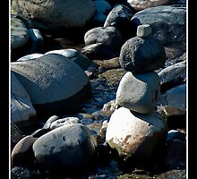 River Rocks - - Cards by Maria A. Barnowl