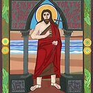 Icon of St. John the Baptist by David Raber