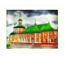 Ukrainian Church  Art Print