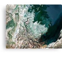 """Northern Estuary""  Canvas Print"