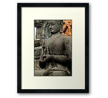 Mudra - Buddhist Monastery, Bali Framed Print