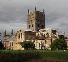 Tewkesbury Abbey by John Dalkin