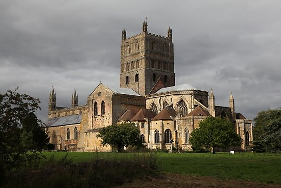 Tewkesbury Abbey by John Dalkin