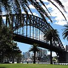 Sydney Harbor Bridge by Loree McComb