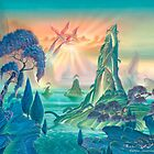 Isles of Paradise by Andrew  Skilleter
