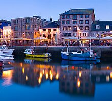 The Barbican, Plymouth, Devon. by Justin Foulkes