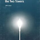 &quot;The Two Towers&quot; - minimalist poster design by J PH