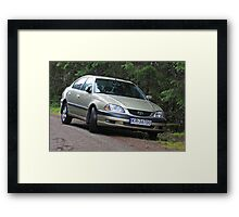 My very cherish treveling and life companion. Toyota. . my friend !!!   by  Brown Sugar. * Where Is The Love * ???  Tribute to Black Eyed Peas Ft Justin Timberlake . Views (408) awsss so good !!!! Framed Print
