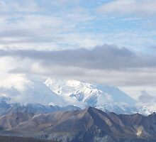 Through the clouds - Mt. McKinley by bbegnaud