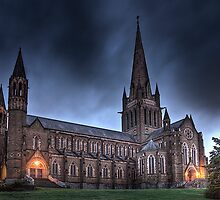 Sacred Heart Cathedral Bendigo, Australia by JohnnyBullen