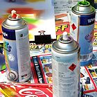 spray cans by winterland