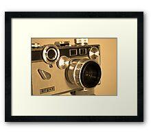 Argus C3 Matchmatic (1958-1966) Framed Print