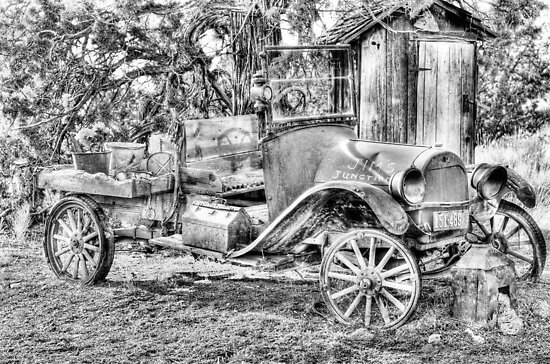 poor old T ? Chevy ? by pdsfotoart