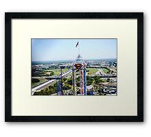 Six Flags Over Texas Framed Print