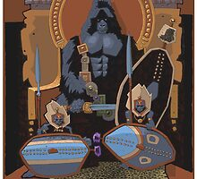 gorilla monarch by David  Kennett