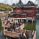 Old Town in Shanghai by Julian Fulton-Boote
