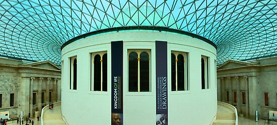 The Great Court - British Museum - London - HDR Panorama by Bryan Freeman