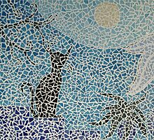 Mosaic Cat by meoise