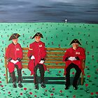 Chelsea Pensioners by Sandy Wager